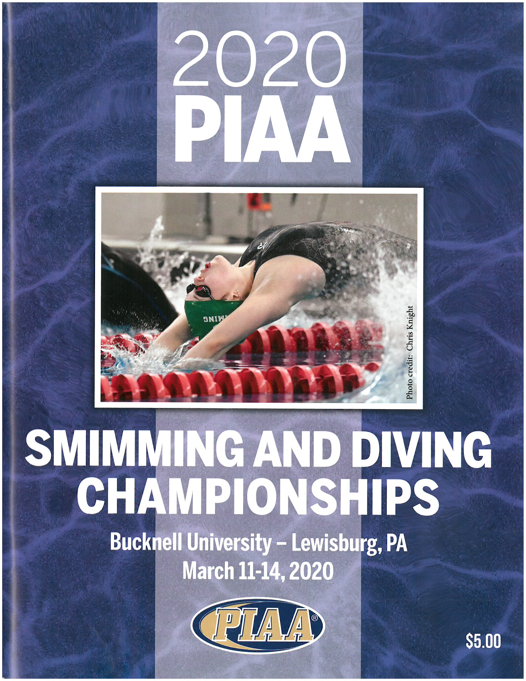 2017 Swimming and Diving Championship Program
